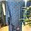 Thumbnail: Kimono comprido seda azul/fúcsia