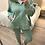 Thumbnail: Casaco de fato de treino com rendinha verde