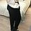 Thumbnail: Calças slouchy sarja preto