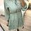 Thumbnail: Vestido florzinhas verde água