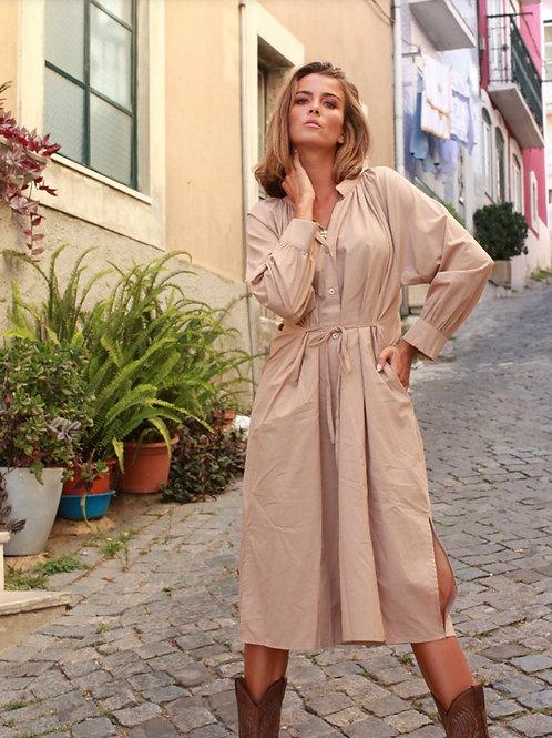 Vestido midi Vintage Bazaar