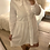 Thumbnail: Vestido/camisa com gola baby branco