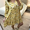 Thumbnail: Vestido estampado golinha amarelo