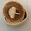 Thumbnail: Cinto elástico c/fivela redonda natural 2