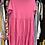 Thumbnail: Vestido midi algodão e bordado inglês rosa
