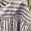 Thumbnail: Camisa riscas azuis e desenhos rosa