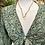 Thumbnail: Blusa bolero seda verde