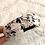 Thumbnail: Bandelete estampada flores branco
