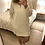 Thumbnail: Vestido/túnica capuz branco