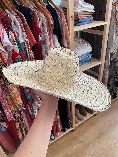 Chapéu grande juta 100% natural