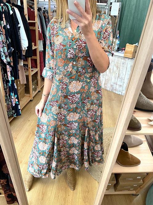 Vestido comprido Vintage Bazaar