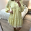 Thumbnail: Vestido estampado amarelo
