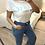 Thumbnail: T-shirt branca Bonjour