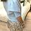 Thumbnail: Casaco de malha manga balão azul