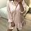 Thumbnail: Vestido/túnica capuz rosa