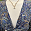 Thumbnail: Blusa bolero seda azul