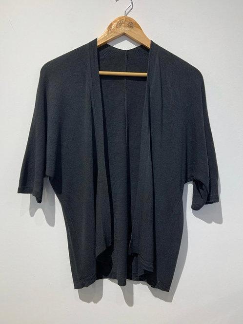 Kimono de malha preto