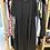 Thumbnail: Vestido preto liso com bolsos