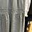 Thumbnail: Vestido midi algodão e bordado inglês cinza