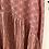 Thumbnail: Blusa plissada estampa brique