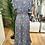 Thumbnail: Vestido seda assimétrico cinza/azul