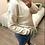 Thumbnail: Camisola de malha com golinha renda beje