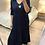 Thumbnail: Vestido de malha com estrelinha marinho