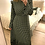 Thumbnail: Vestido comprido bolas verde Vintage Bazaar