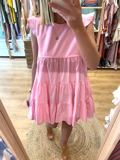 Vestido polpeline rosa