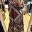 Thumbnail: Vestido camisa bandana grená Vintage Bazaar