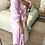Thumbnail: Vestido/camisa com bolso lilás