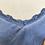 Thumbnail: Top acetinado com renda azul
