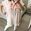 Thumbnail: Túnica/vestido bordado rosa