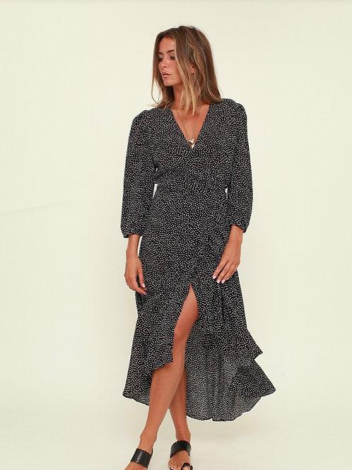 Vestido Estarreja preto Vintage Bazaar
