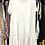 Thumbnail: Vestido midi algodão e bordado inglês branco