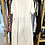 Thumbnail: Vestido branco liso com bolsos