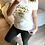 """Thumbnail: T-shirt """"No Rain No Flowers"""" Naf Naf"""