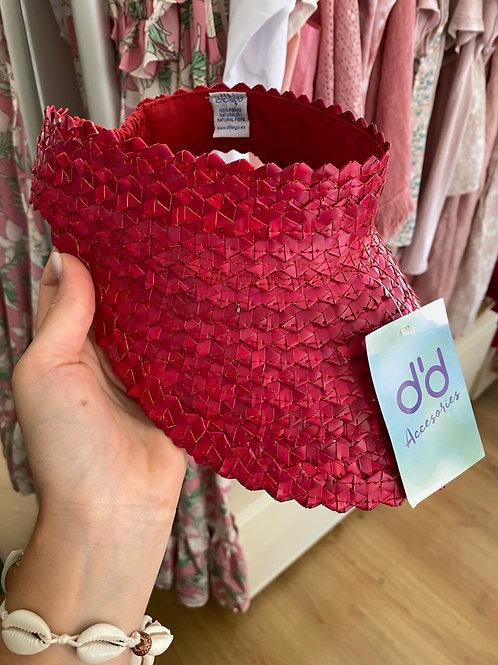 Pala 100%fibras naturais vermelho