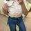 Thumbnail: Camisa manga curta c/golinha rosa