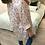 Thumbnail: Camisa túnica flores rosa