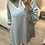 Thumbnail: Vestido cinza com gola xadrez