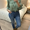 Thumbnail: Blusa verde folhinhos