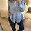 Thumbnail: Camisa azul com folho