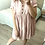 Thumbnail: Vestido linho rosa c/botões