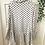 Thumbnail: Blusa plissada estampa branco