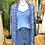 Thumbnail: Kimono seda azulão