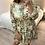 Thumbnail: Vestido estampado floral verde