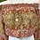 Thumbnail: Crop top seda amarelo/salmão