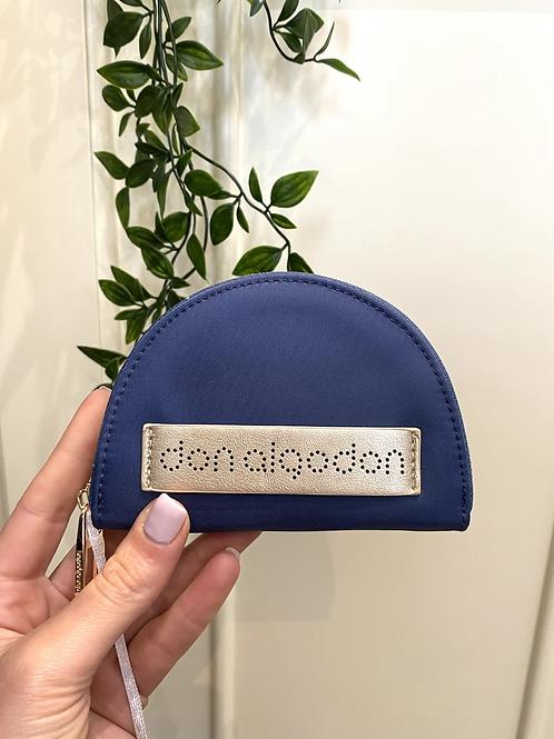 Porta-moedas azul Don Algodon