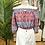 Thumbnail: Crop top seda turquesa/framboesa